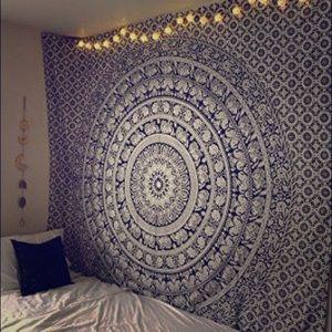 Tapestry - Elephant Mandala
